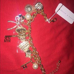 Kelly & Katie Jewelry - Charm bracelet